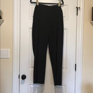 Dana Buchman dark gray dress pants